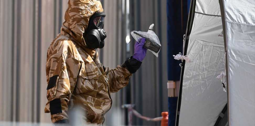 When deadly Novichok nerve agent was released in Salisbury and Amesbury in 2018 we quickly provided critical PPE and specialised air conditioned facilities to CBRN teams who worked round the clock for several months during a summer heatwave. #WeAreMarshall