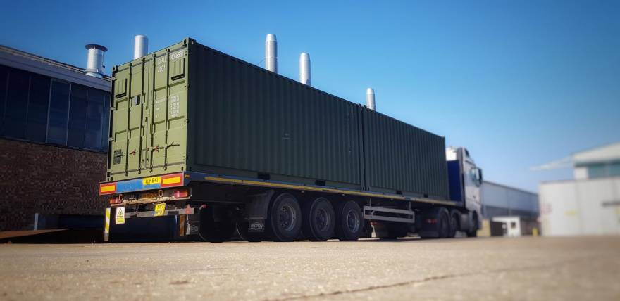 200th container dispatched on time