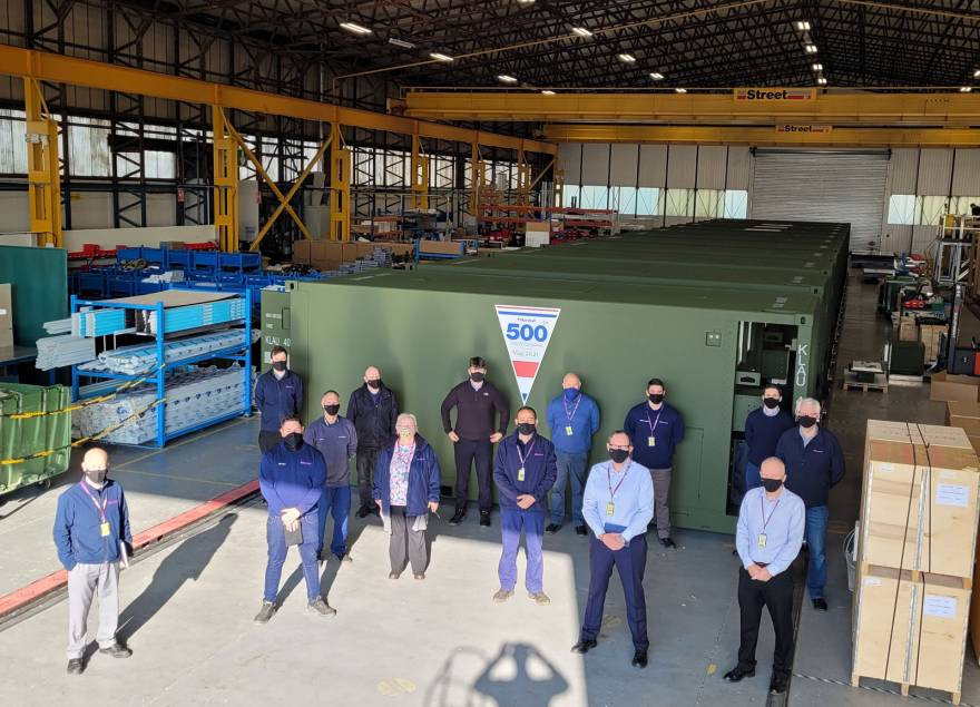 500th Container System Delivered to Dutch Armed Forces