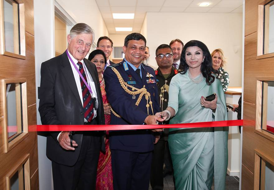 Bangladesh Air Force Chief Opens Marshall Customer Service Centre