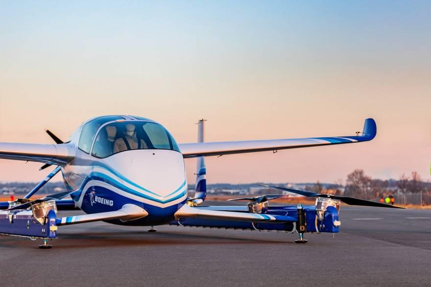 Boeing Autonomous First Flight