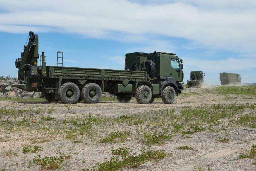 Canada's Armed Forces take delivery of first Marshall loadbeds