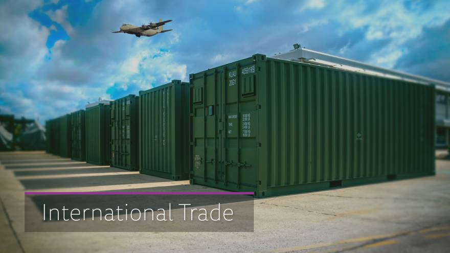 Export provides a world of possibilities