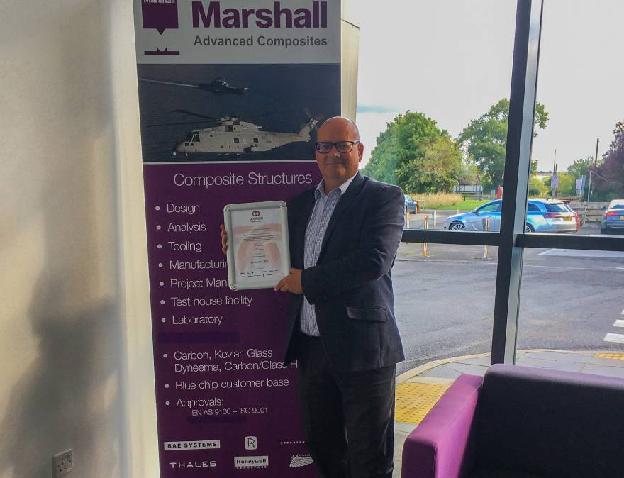 Marshall Advanced Composites joins JOSCAR suppliers register