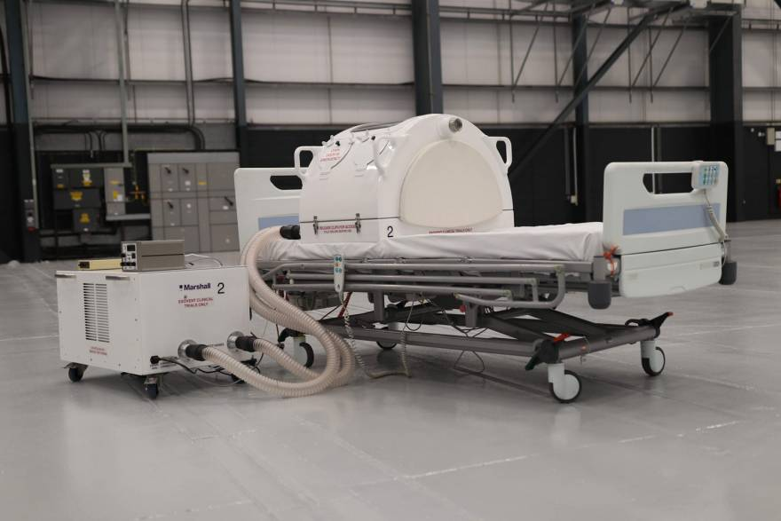 Marshall Aerospace and Defence Group Exovent Ventilator set for Mass Production