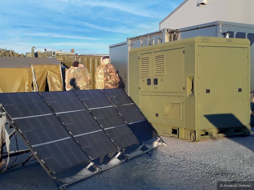 Marshall Aerospace and Defence Group and INTRACOM DEFENSE signed a Cooperation Agreement for Integrated Hybrid Power Solutions