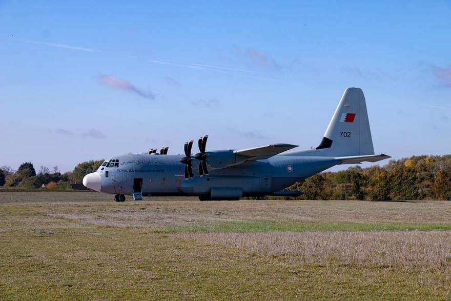 Marshall Aerospace and Defence Group delivers first Royal Bahraini Air Force C-130J