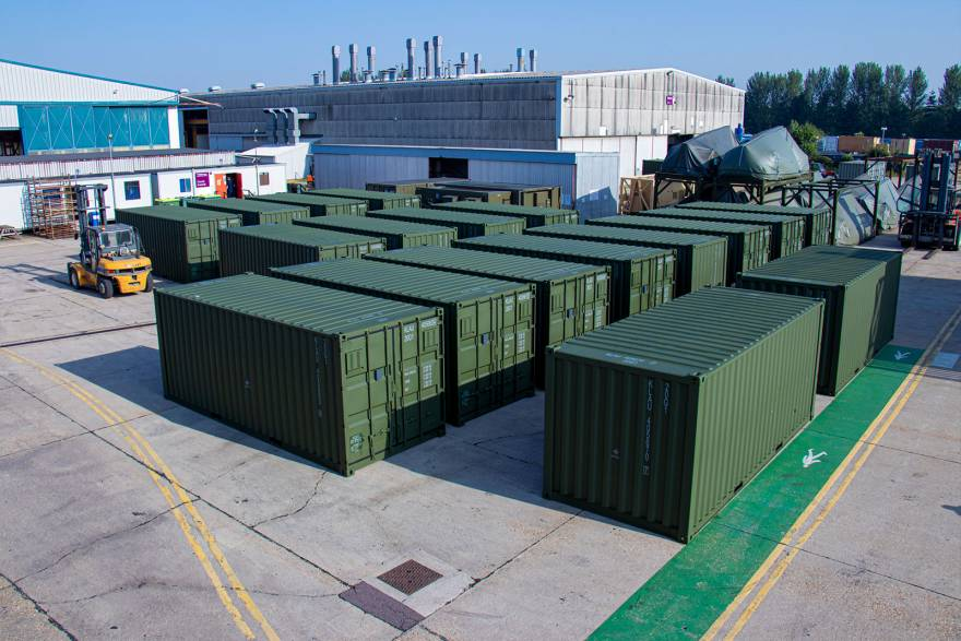 Marshall Aerospace and Defence Group dispatches first deployable containers for Netherlands Army