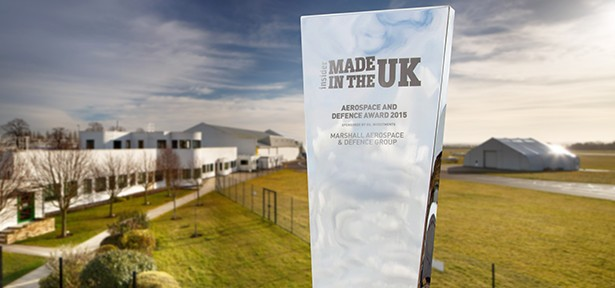 Marshall Aerospace and Defence Group wins top UK Manufacturing Award
