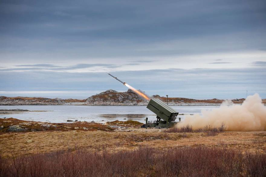 Marshall containers selected by Kongsberg for NASAMS air defence system