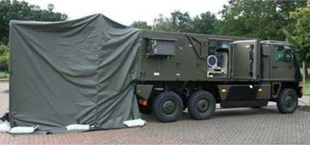 Marshall provides shelters for new British Army GEOINT system