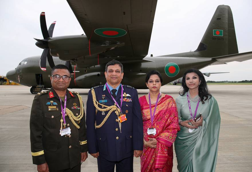 Marshall rolls out first Bangladesh Air Force C-130J