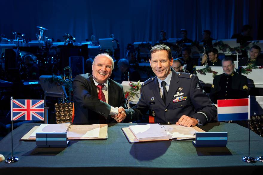 Marshall Signs 14-Year Contract to Support Royal Netherlands Air Force C-130H