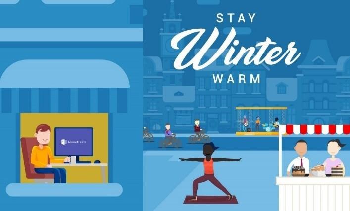 Marshall Staying Winter Warm