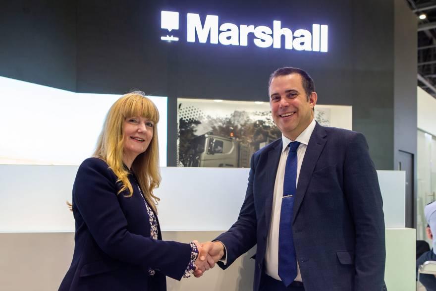 Marshall to partner on Team Tempest