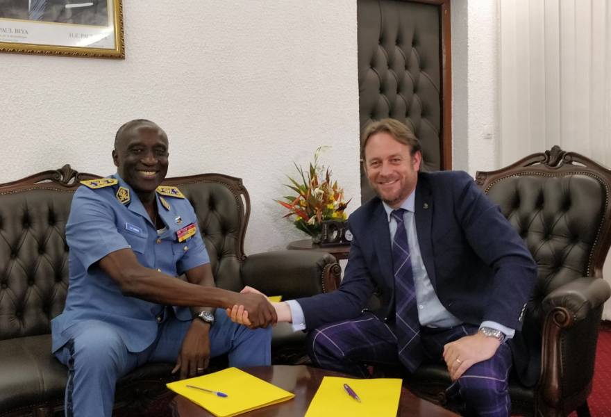 Marshall wins 5-year support contract with Cameroon Air Force