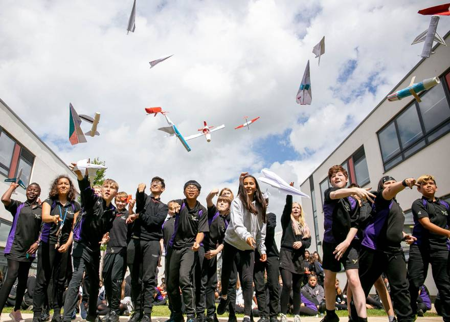 North Cambs Academy Launched into STEM by Marshall