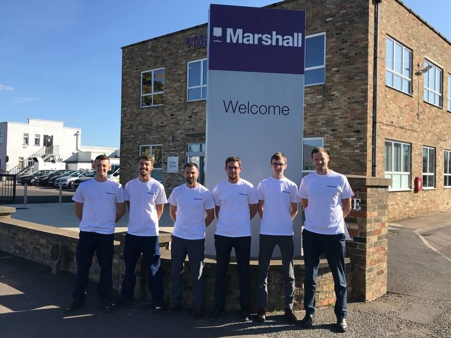 Teaming with enthusiasm for Sir Michael Marshall