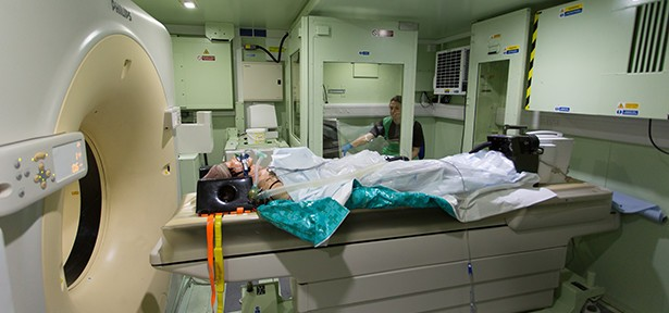 UK MoD takes delivery of another class leading Marshall CT Scanner