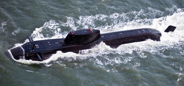 Astute Class Submarine Structure