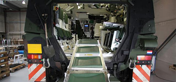 Loading Ambulance