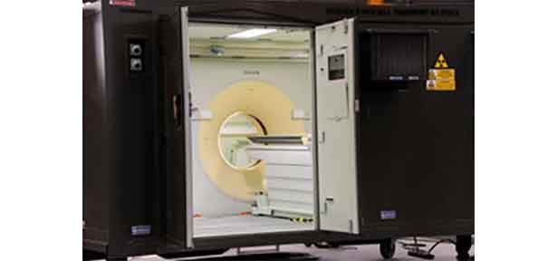French Defence CT Scanner