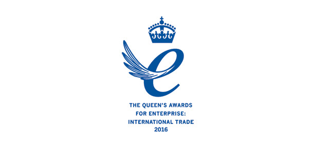 Queen's Award for Enterprise in the International Trade category 2016