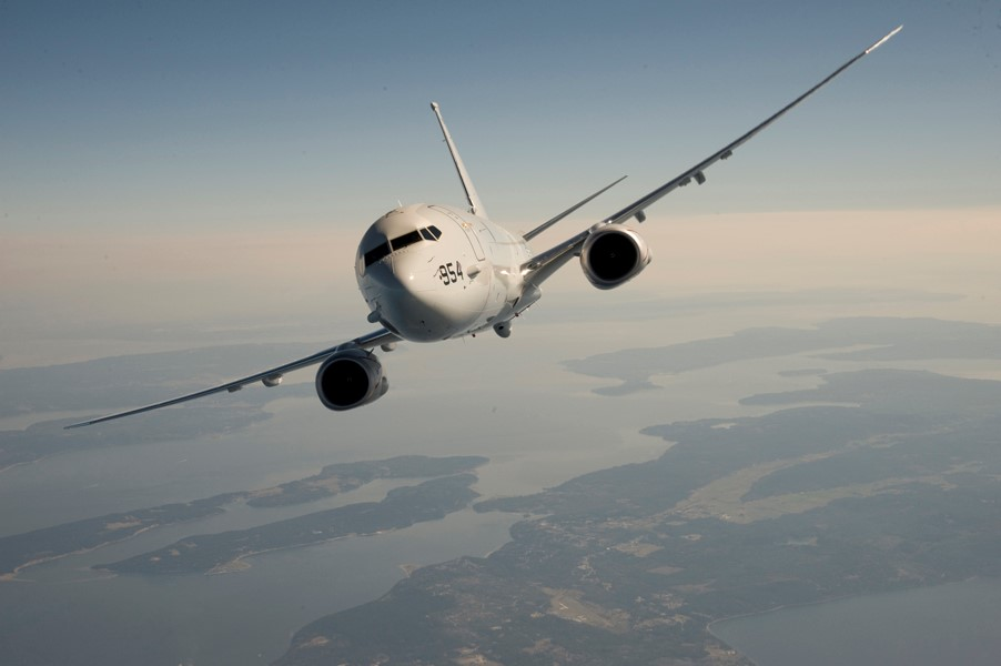 Boeing Flying