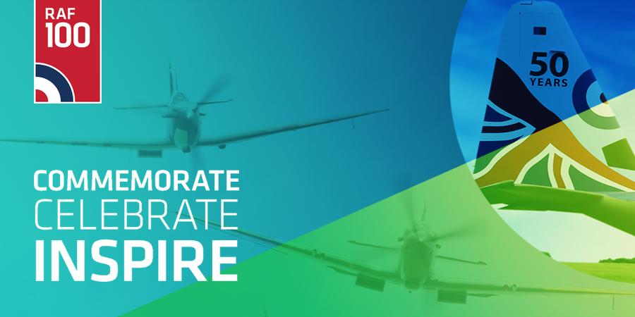 RAF 100 | Commemorate. Celebrate. Inspire.
