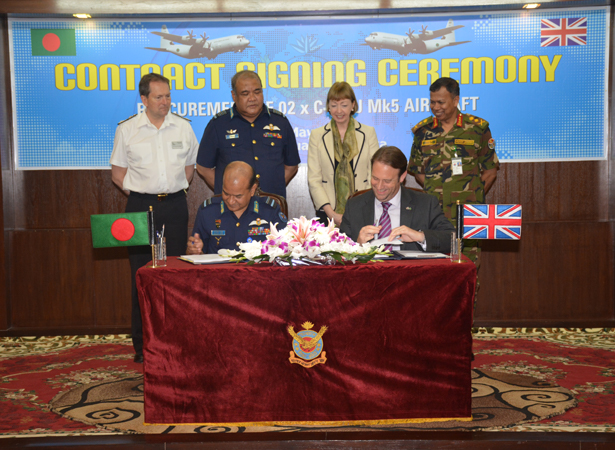 Marshall Aerospace and Defence Group sign support contract with Bangladesh Air Force