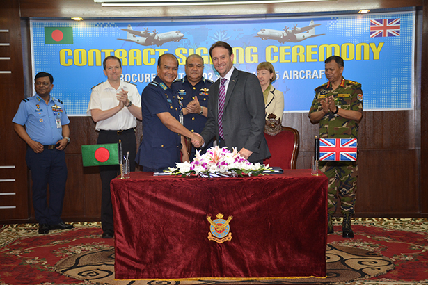 Marshall Aerospace and Defence Group sign contract to support Bangladesh Air Force